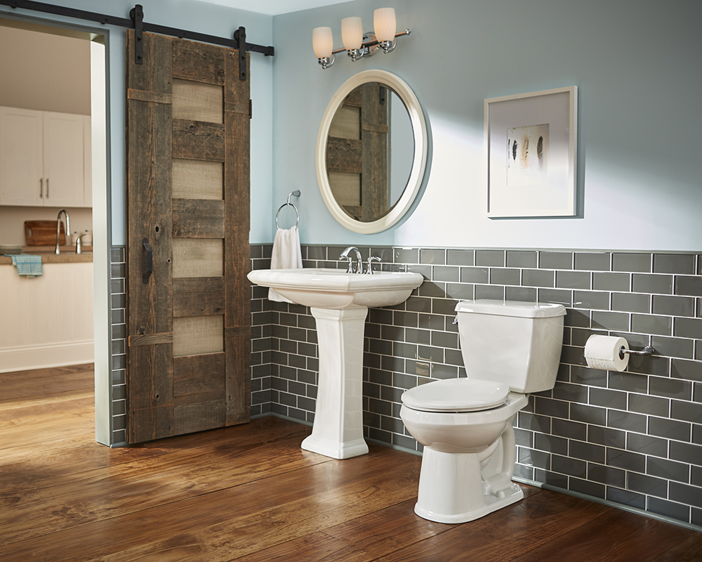 Logan Square 4 Quot Centers Petite Pedestal Bathroom Sink