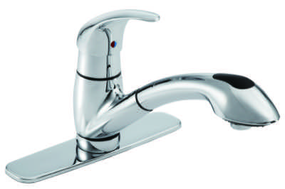 Viper Single Handle Pull Out Kitchen Faucet 1 75gpm
