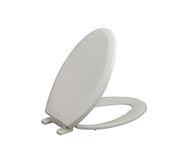 Adjustable Slow Close Elongated Toilet Seat With Cover