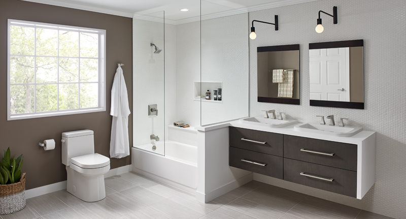 Call In The Pros For A Modern Bathroom Update