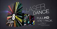Laser Dance vj loops pack