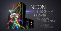 Neon Lazers%26lifgts VJ Loops Pack