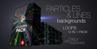 Particles and lines vj loops pack