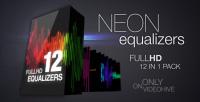 audio Equalizers vj loops pack