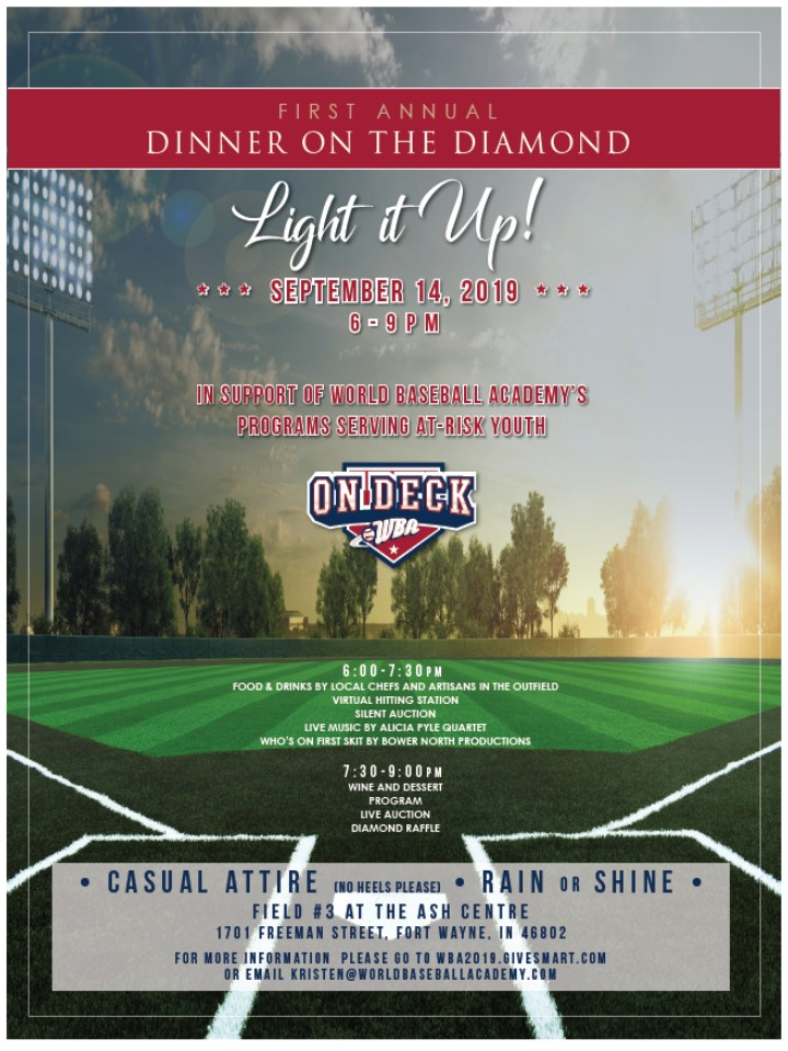 Dinner on the Diamond - Event Details
