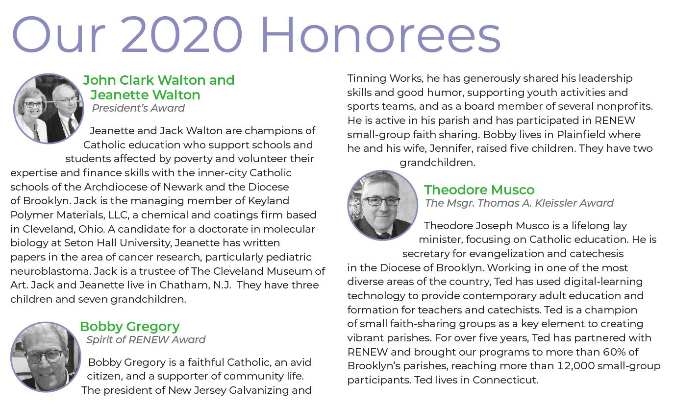 Our Honorees