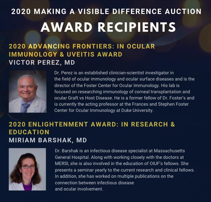 2020 award recipients