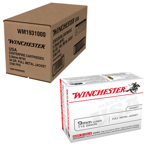 Winchester 1,000 Rounds