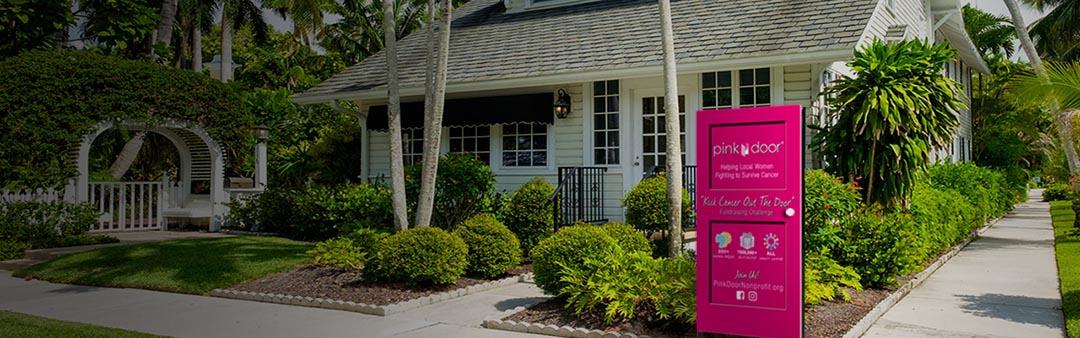 Kick Cancer Out the Door with Pink Door