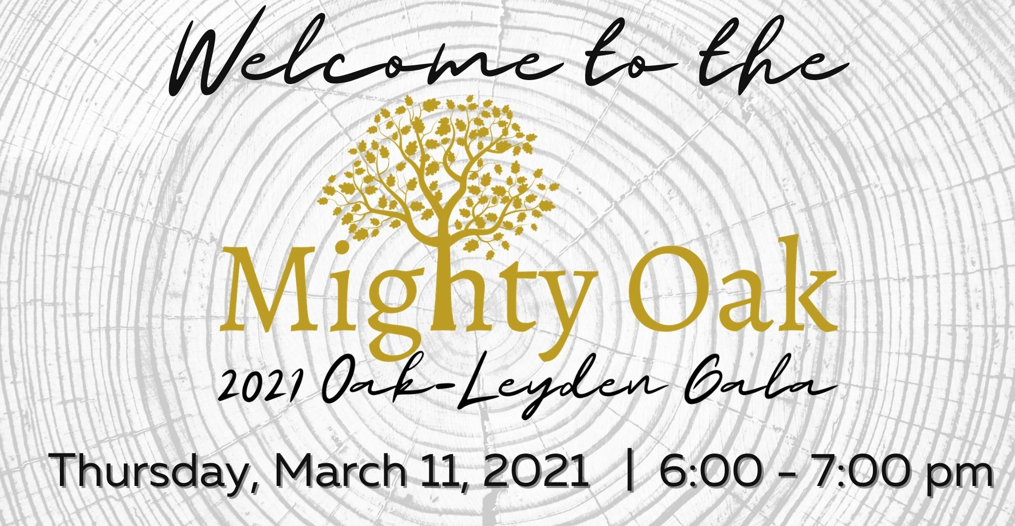 Welcome to the Mighty Oak Gala