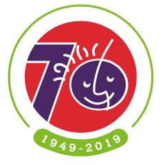70th logo