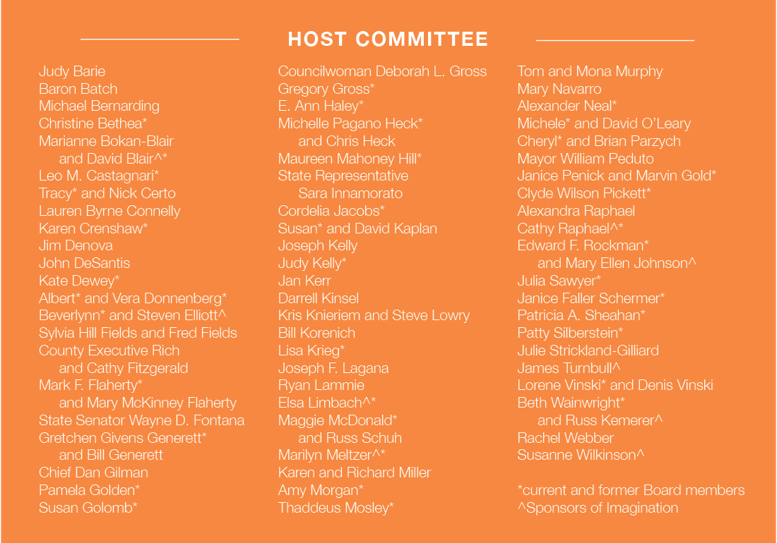 2020 Contemporary Craft Grand Opening Gala Host Committee list