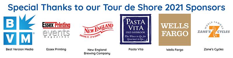 Tour de Shore 2021 Sponsors