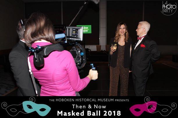 2018 Hoboken Hero award receipient Jen Tripuka and HHM Board President Val Hufnagel