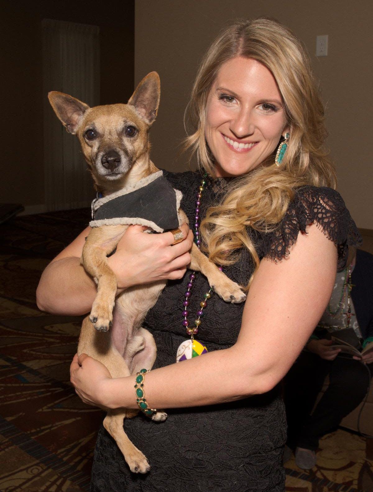 Ali Eccleston with Animal Friends Alliance Alum, Milo.