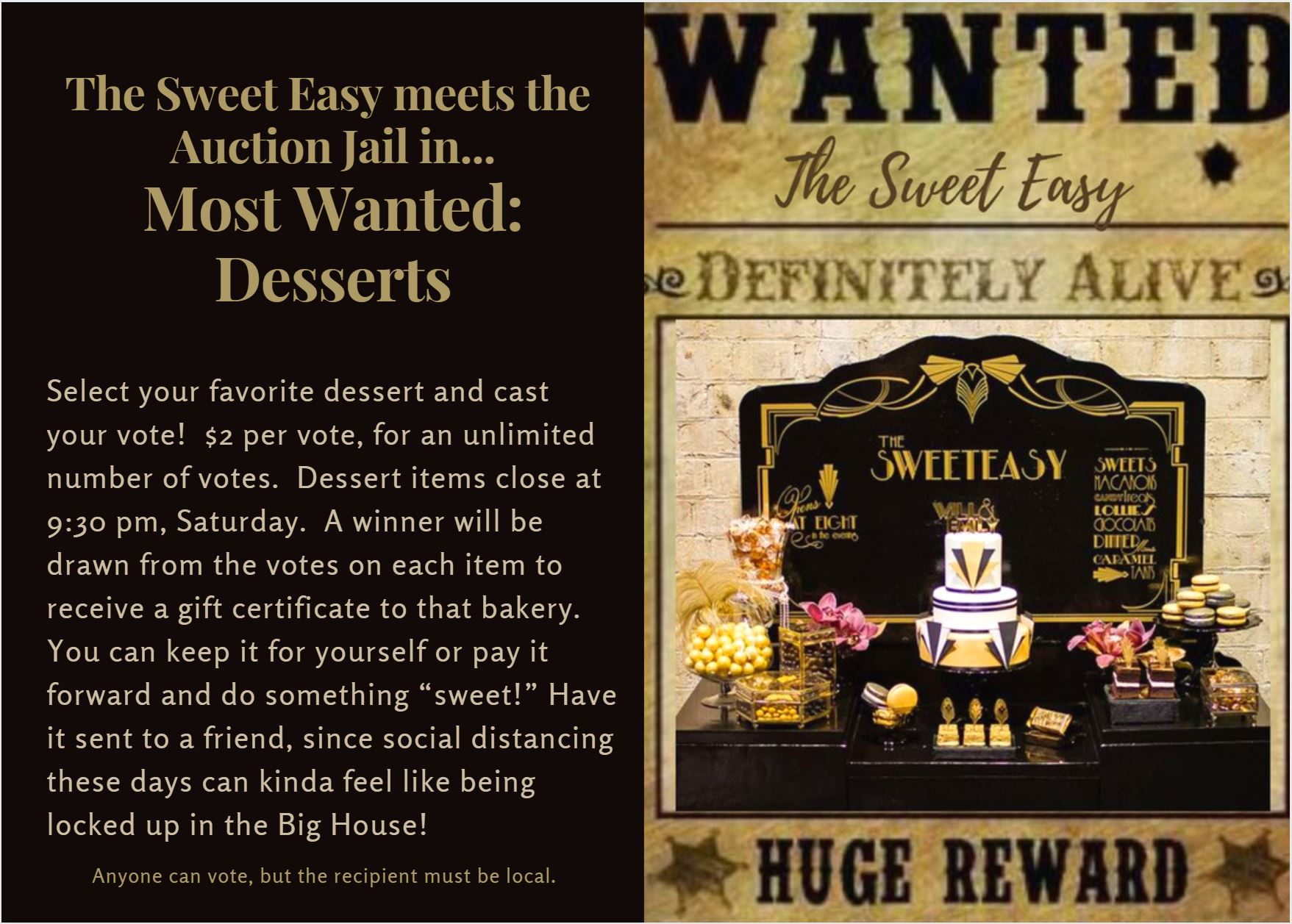Most Wanted: Desserts