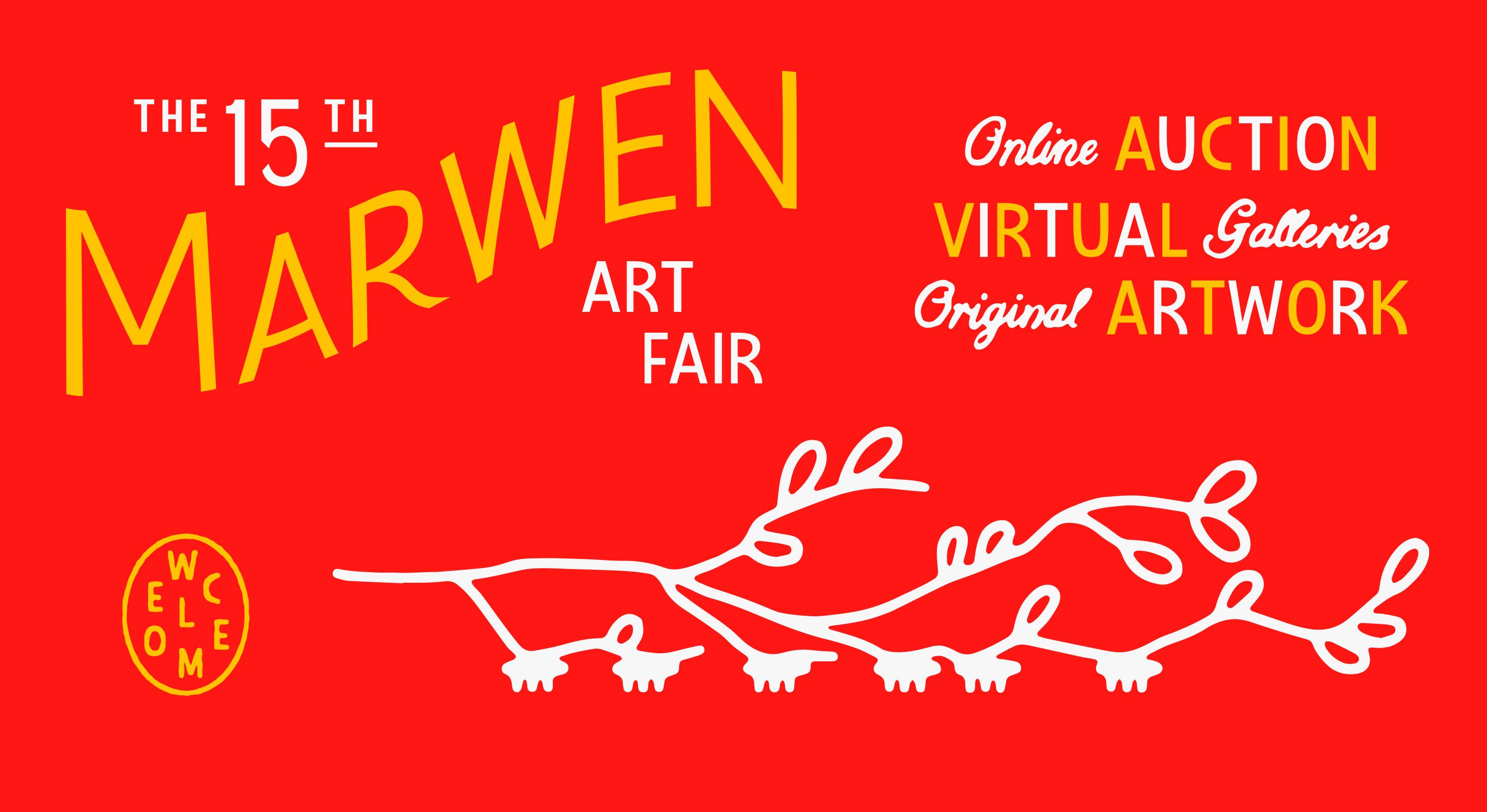 Art Fair promo red
