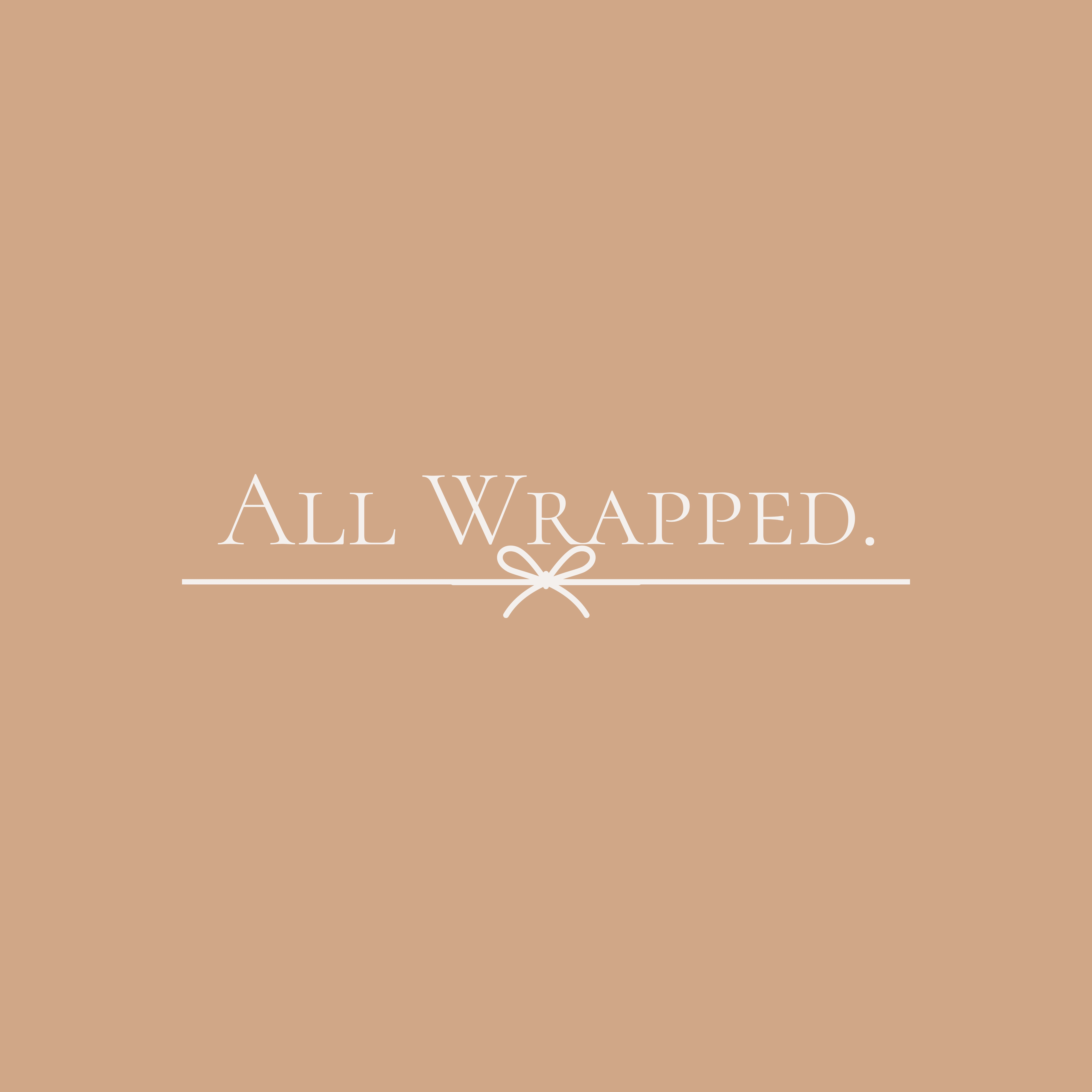all wrapped