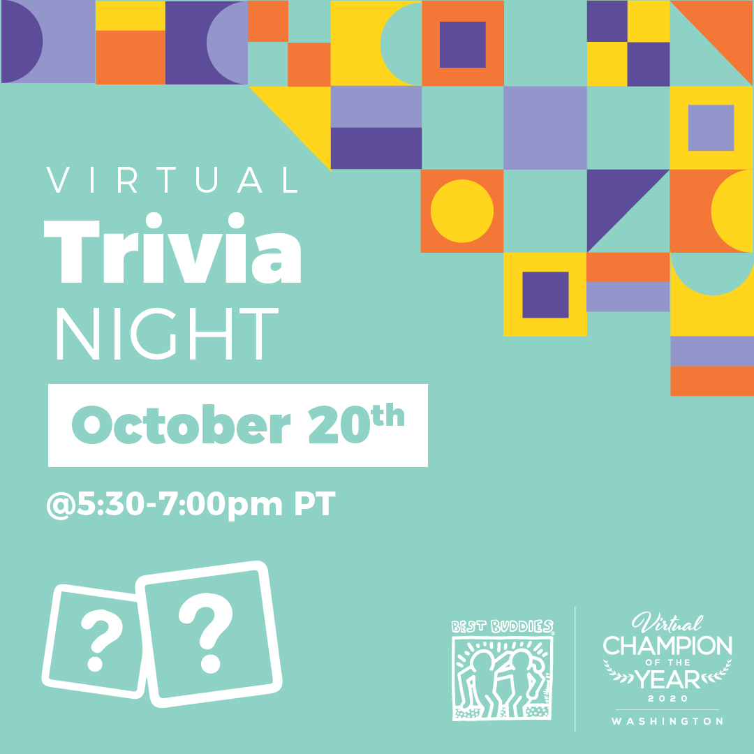 Virtual Trivia Night, October 20th, 5:30-7:00pm