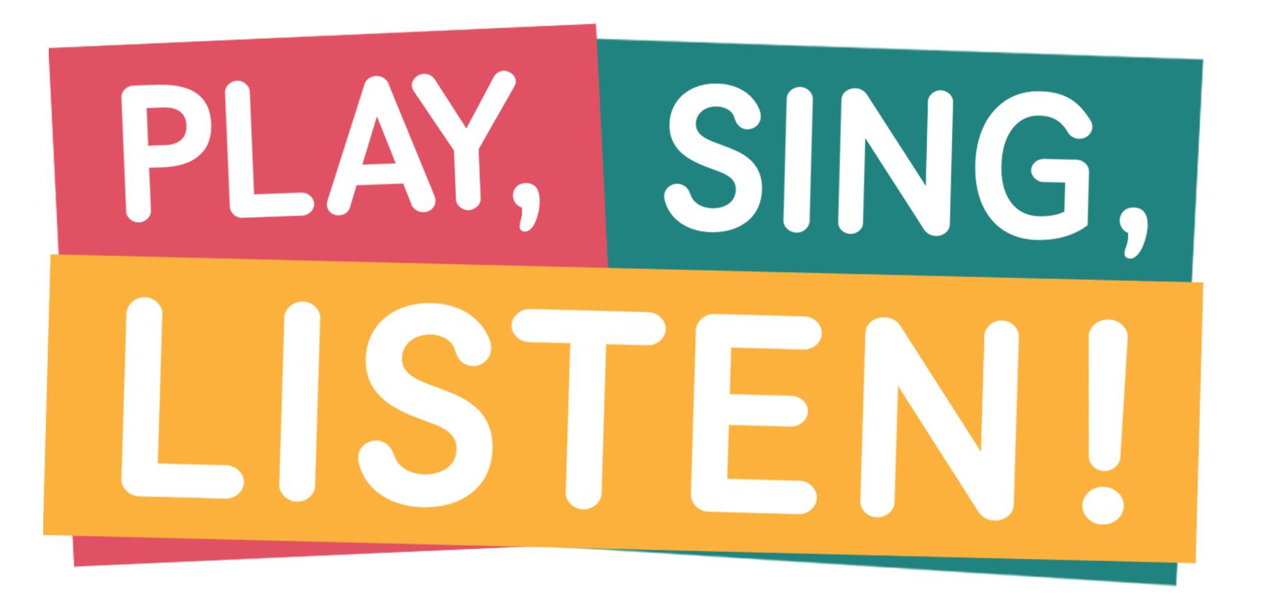 PlaySingListen logo