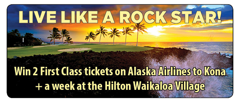 Here's your chance to live like a rock star and help CBI at the same time! This year's Golden Ticket prize will be a vacation to the Big Island of Hawaii. Buy more tickets for more chances to win. Tickets can be purchase in advance and up to the time of the drawing on March 18th. You do not need to be present to win. Only 125 tickets will be sold