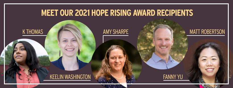 2021 Hope Rising Award Recipients