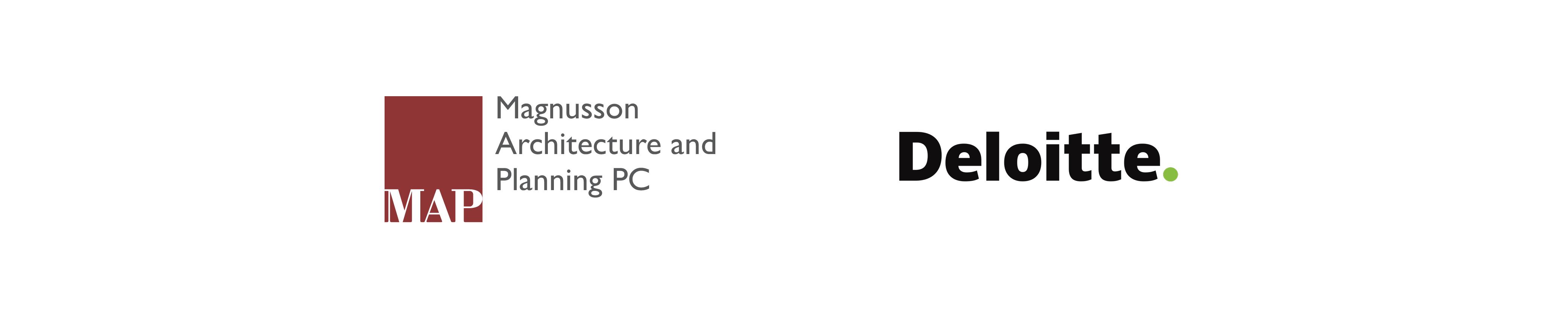 MAP and Deloitte logos