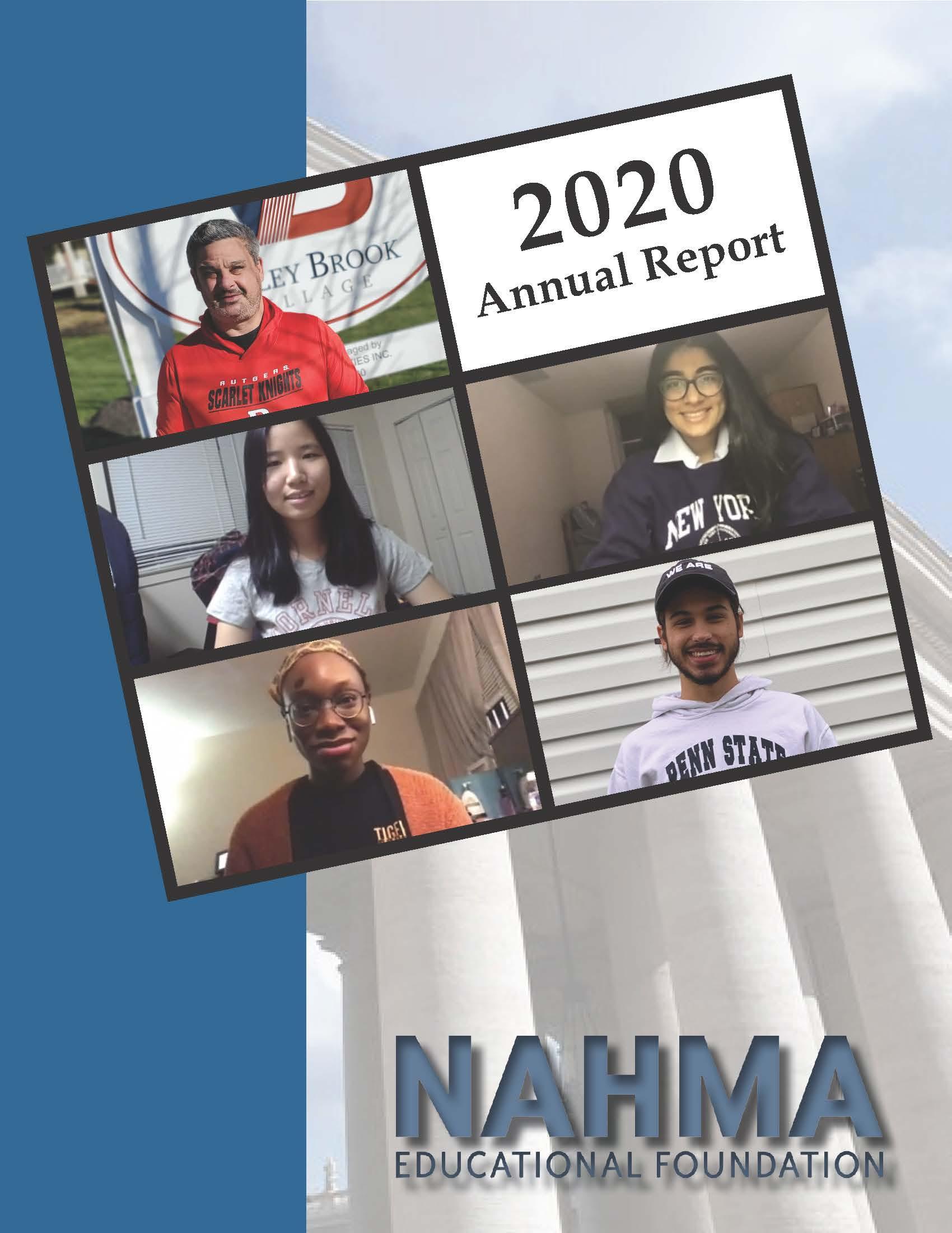 2020 Annual Report pg 1