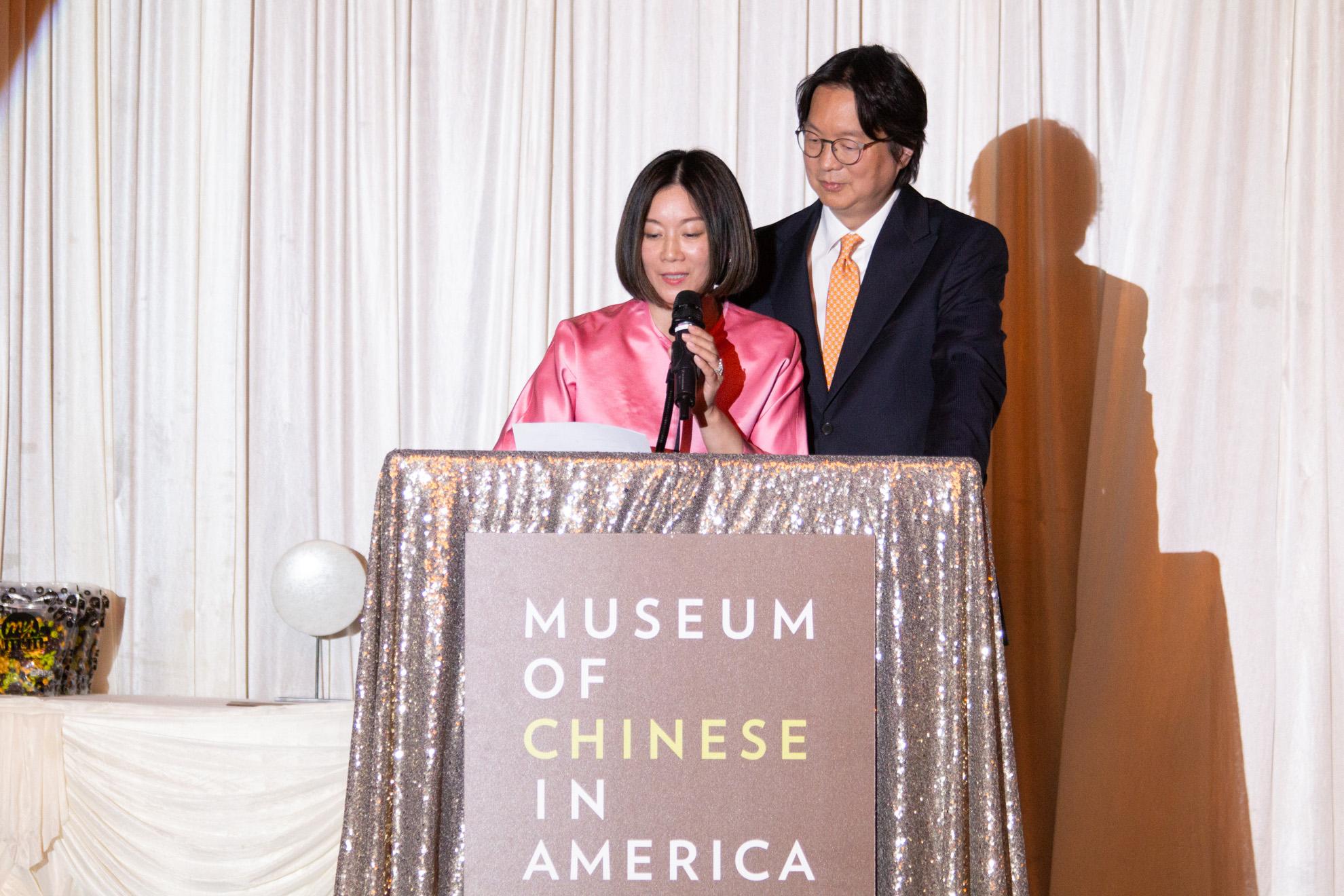Michelle Koo Hayashi and Dr. Jess Ting