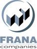 Frana Companies logo in grayscale