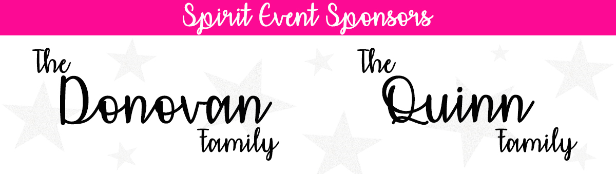 Spirit Event Sponsors