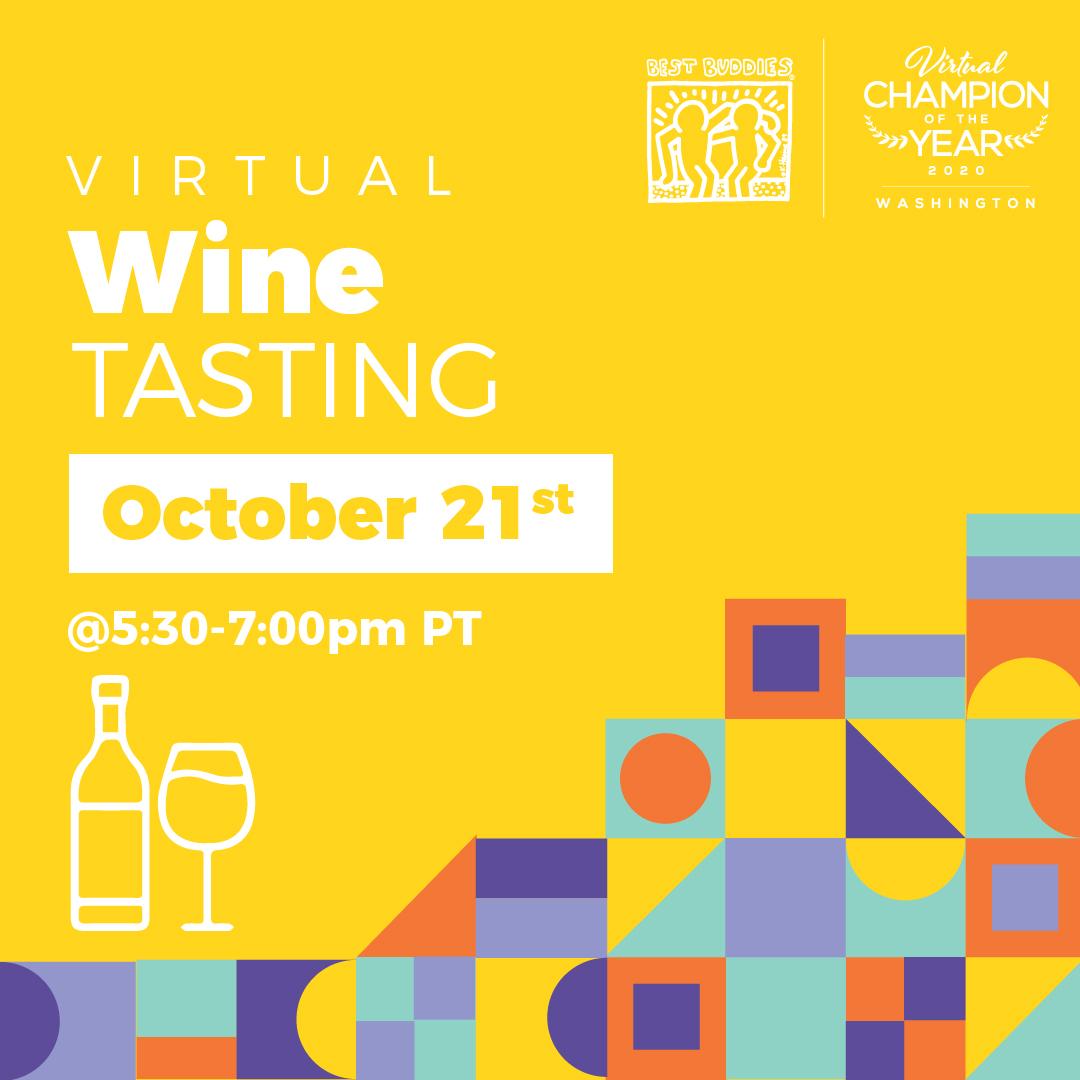 Virtual Wine Tasting, October 21st, 5:30-7:00pm