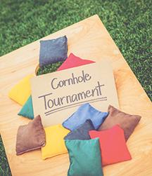 Cornhole Tournament - Part of the OphthOlympics