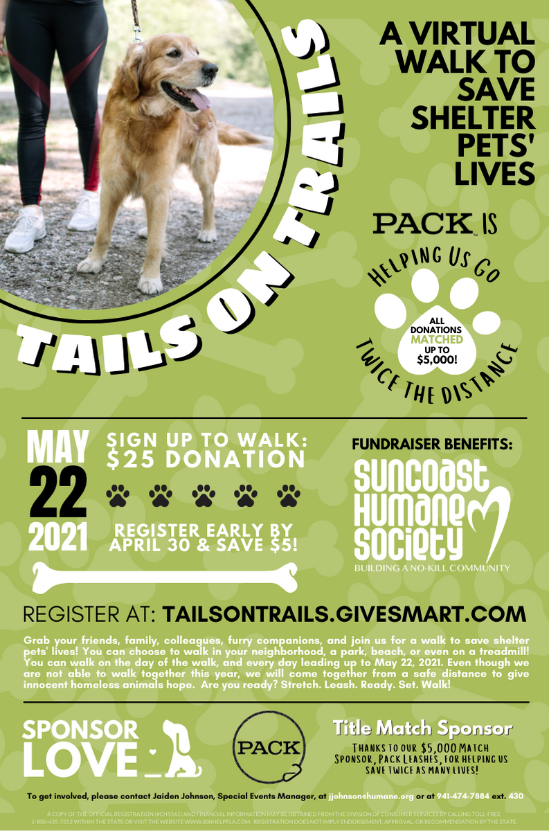Tails on Trails Flyer