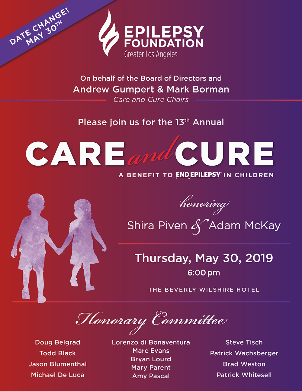 2019 care and cure gala info