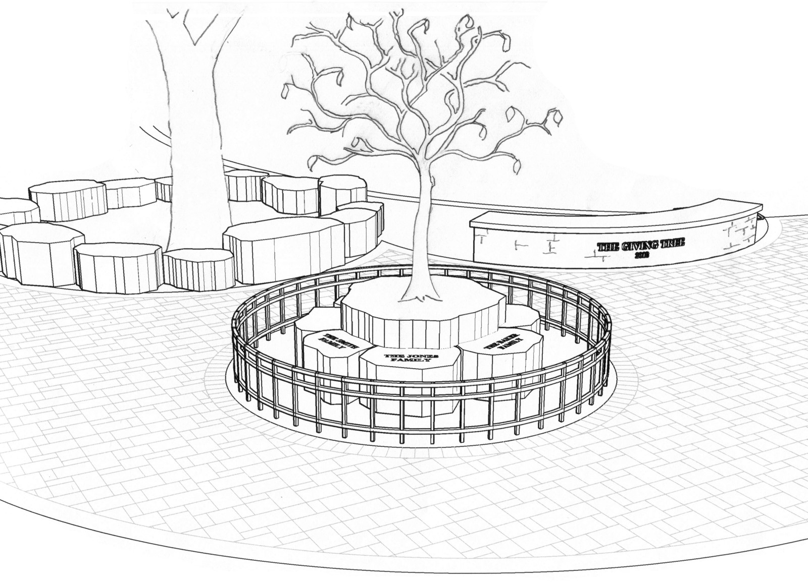 Giving Tree Sketch