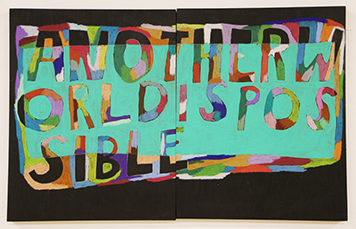 Diptych by Lukaza Branfman-Verissimo, Another World is Possible