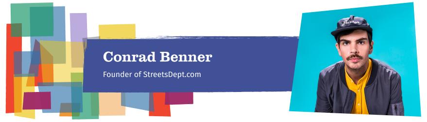 Conrad Benner Headshot