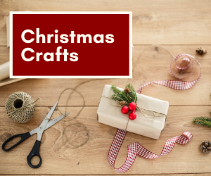 DIY Holiday Crafts brought to you by the ladies of the TR Site Crafts Committee