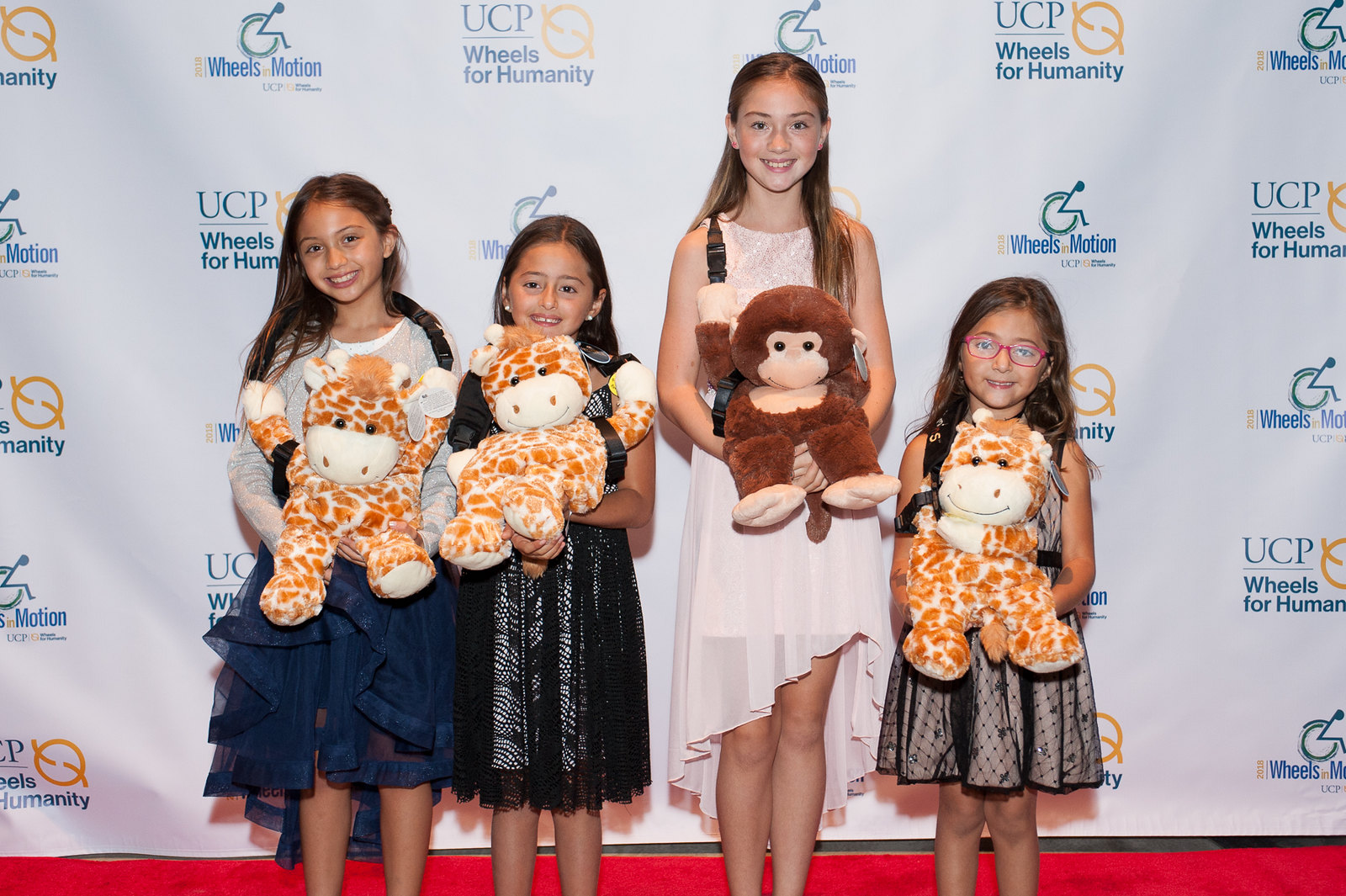 Children at the gala
