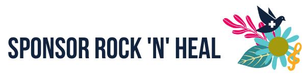 Sponsor Rock 'n' Heal