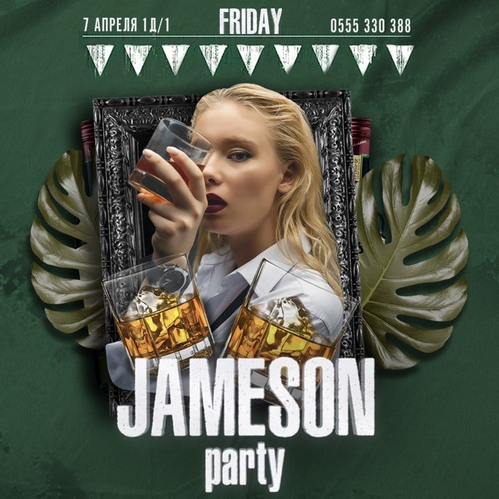 FRIDAY JAMESON PARTY 🥃🔥