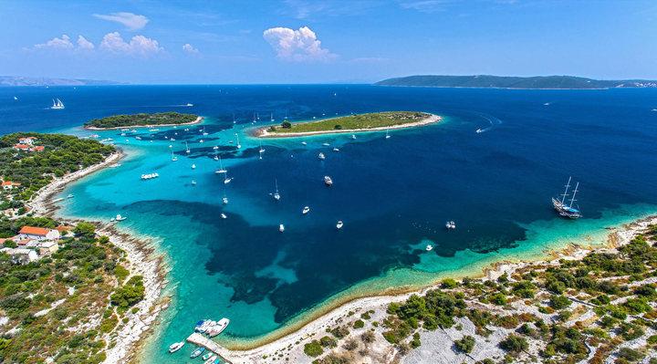 Blue Lagoon & Maslinica & Trogir