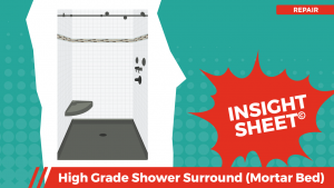 Actionable Insights Shower Surround High Grade