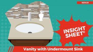 Actionable Insights Vanity w/ Undermount Sink