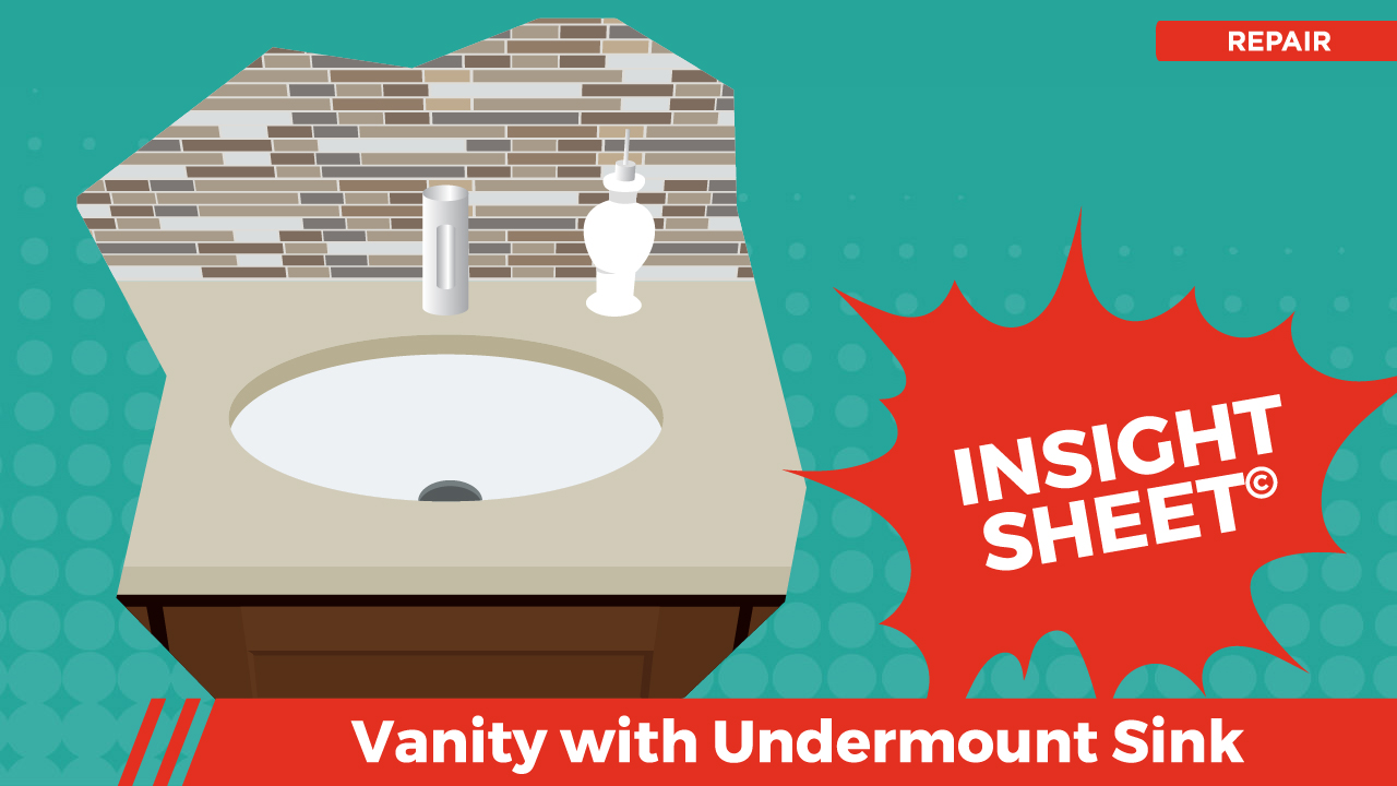 Actionable Insights Vanity w/ Undermount Sink