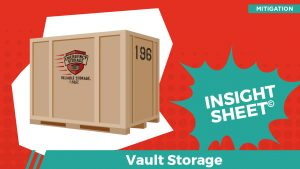 Actionable Insights Vault Storage