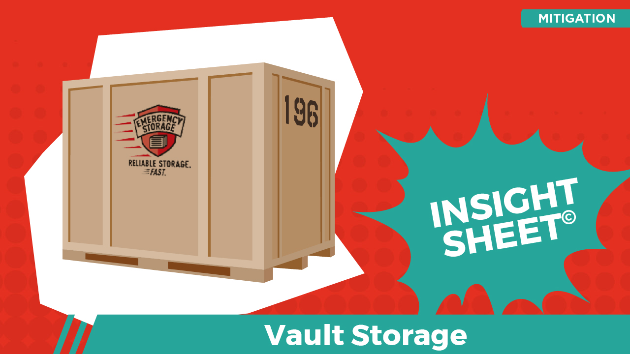 Actionable Insights Vault Storage