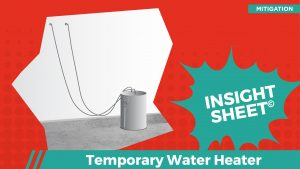 Actionable Insights Temporary Water Heater