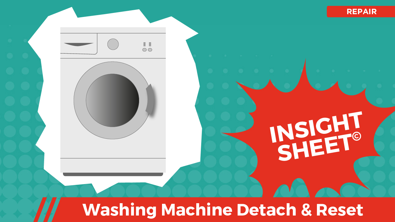 Actionable Insights Washing Machine Detach & Reset